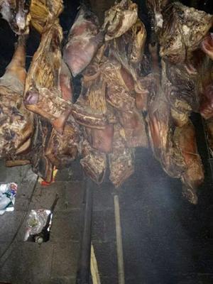 湖北省恩施土家族苗族自治州鹤峰县农家柴熏腊肉 散装