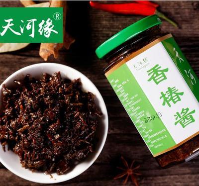 这是一张关于香椿酱菜的产品图片