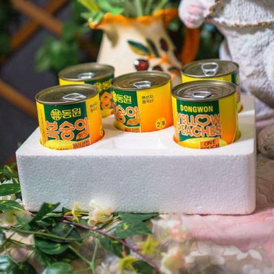 安徽省淮北市杜集区黄桃罐头 6-12个月