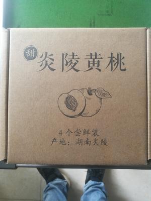 湖南省株洲市炎陵县炎陵黄桃 55mm以上 3 - 4两