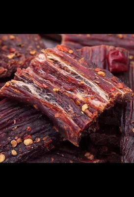 四川省阿坝藏族羌族自治州松潘县干巴牛肉 熟肉