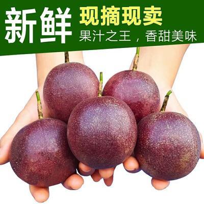 广西壮族自治区玉林市北流市紫红色百香果 70 - 80克