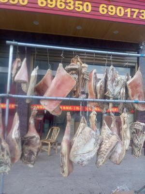 浙江省金华市磐安县传统手工腊肉 散装