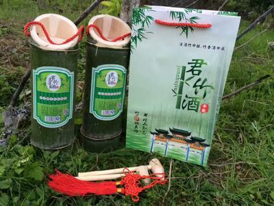 福建省三明市宁化县原生态竹筒酒 纸盒装 3-6个月