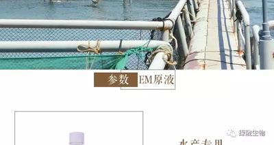 山东省潍坊市诸城市EM原液水产专用