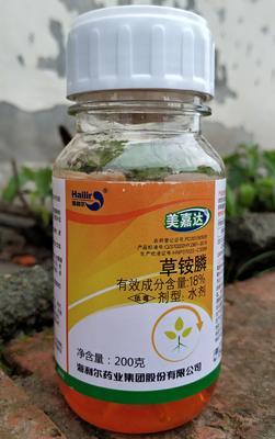湖南省岳阳市华容县美嘉达草胺膦200克 水剂 瓶装
