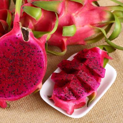 这是一张关于越南红心火龙果 中(5-7两)的产品图片
