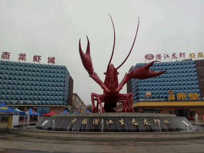 这是一张关于潜江小龙虾 稻田虾 4-6钱的产品图片