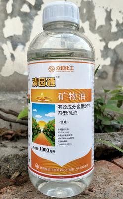湖南省岳阳市华容县清园通矿物油1千毫升 乳油 瓶装