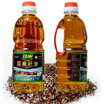 甘肃省兰州市永登县冷榨亚麻籽油