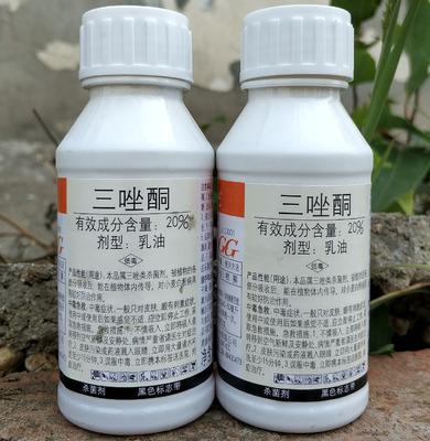 湖南省岳阳市华容县国光三唑酮80毫升 乳油 瓶装