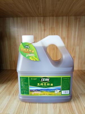 甘肃省兰州市永登县压榨菜籽油 3.0L