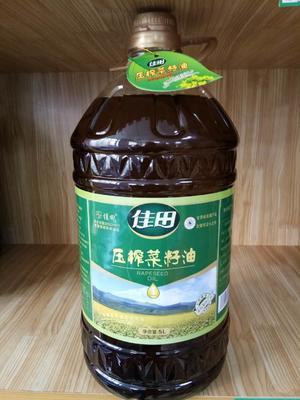 甘肃省兰州市永登县压榨菜籽油 5.0L
