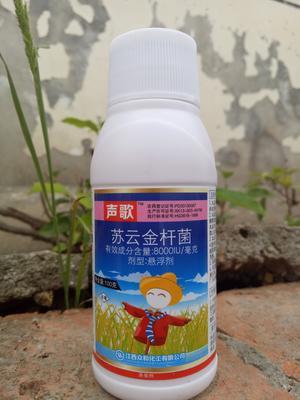 湖南省岳阳市华容县声歌苏云金杆菌100 悬浮剂 瓶装