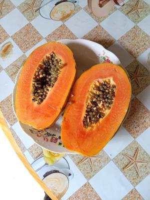 广西壮族自治区南宁市西乡塘区红心木瓜 1 - 1.5斤