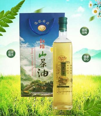广西壮族自治区桂林市龙胜各族自治县压榨一级山茶油 500ml