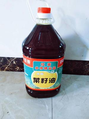浙江省杭州市桐庐县压榨菜籽油 4-4.5L