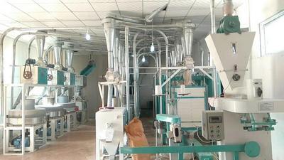 河南省洛阳市老城区石磨面粉