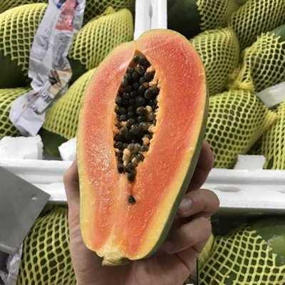 广西壮族自治区南宁市江南区红心木瓜 0.5 - 1斤