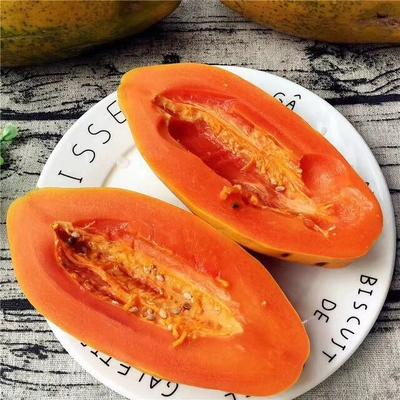 广西壮族自治区南宁市江南区红心木瓜 1 - 1.5斤
