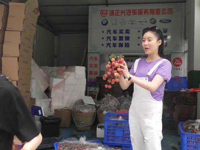 这是一张关于糯米糍荔枝 2cm的产品图片