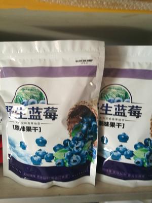 吉林省白山市浑江区野生蓝莓莓干 鲜果 2 - 4mm以上