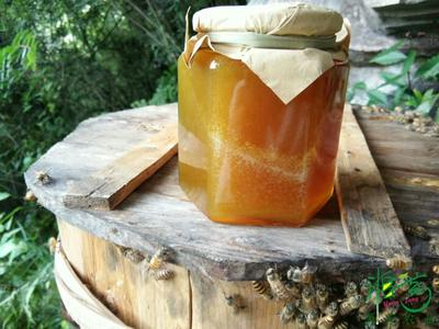 四川达州野生蜂蜜 玻璃瓶装 100% 2年以上