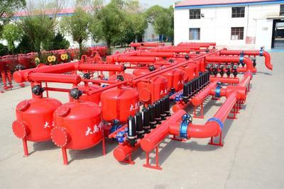 陕西榆林滴灌喷灌 叠片手动过滤器DY-30