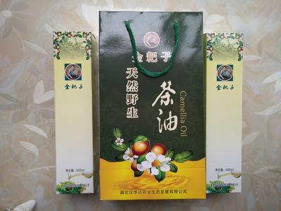 湖北黄冈野生山茶油
