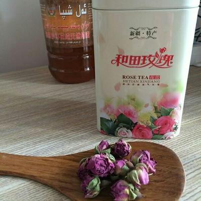 新疆和田玫瑰花茶 罐装 恒温长期保存 一级