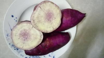 这是一张关于冰淇淋红薯 紫皮 3两以上的产品图片