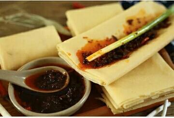 山东临沂纯手工小米软煎饼
