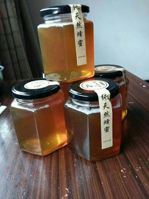湖南常德土蜂蜜 玻璃瓶装 95%以上 2年以上