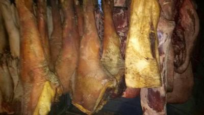 这是一张关于重庆腊肉 散装 3-6个月的产品图片