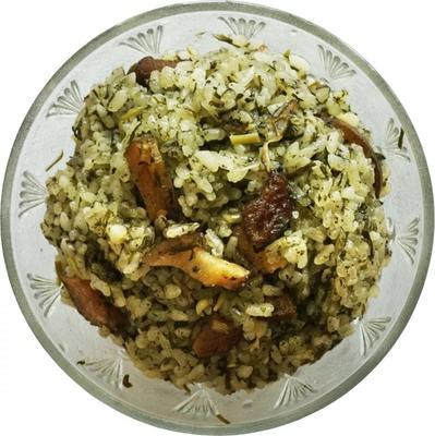 这是一张关于苗家社菜饭的产品图片
