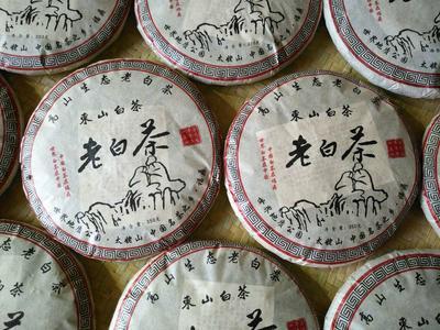 这是一张关于福鼎白茶 散装 三级的产品图片