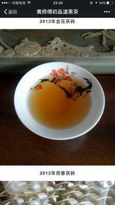 山东烟台安化黑茶 盒装 特级