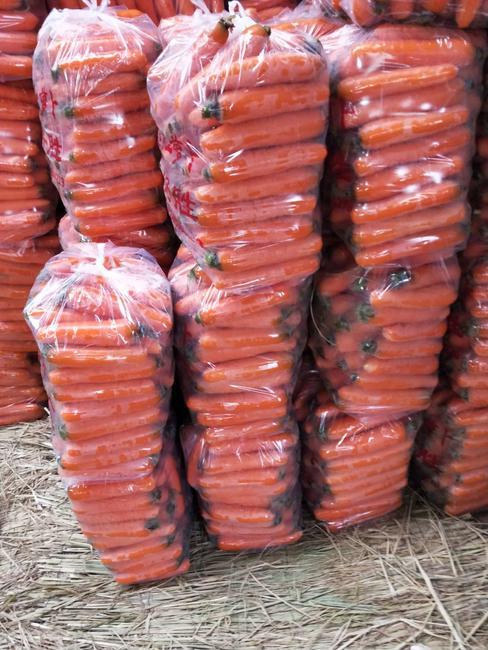 三红胡萝卜 15cm以上 3两以上 4~5cm