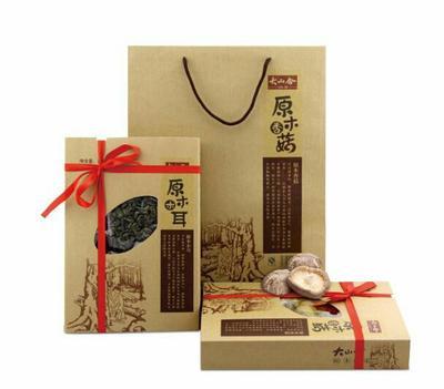 上海原木干香菇 礼盒装 1年
