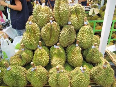 广东广州白云区金枕头榴莲 80 - 90%以上 3 - 4公斤