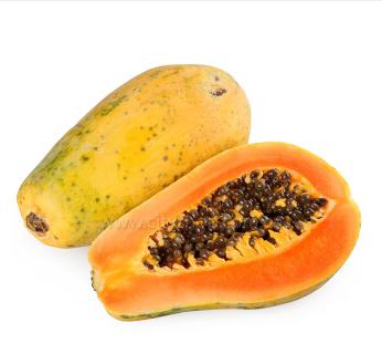 海南海口龙华区红心木瓜 0.5 - 1斤