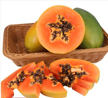 海南海口龙华区红心木瓜 1 - 1.5斤