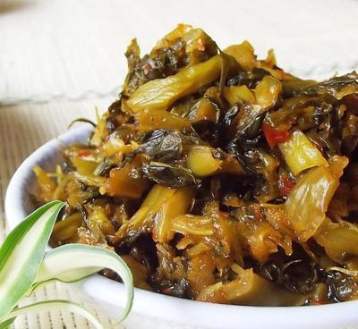 云南红河弥勒市酸菜