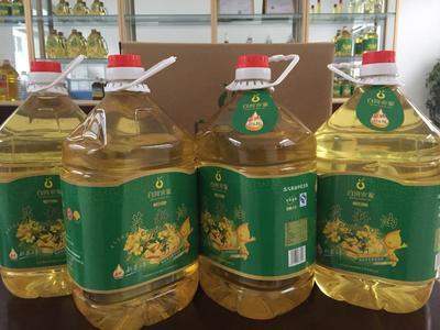 陕西安康白河县非转基因菜籽油 5L/桶