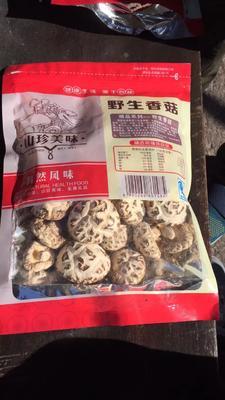 湖北十堰房县原木干香菇 散装 半年