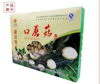 甘肃省兰州市城关区干口蘑 礼盒装 1年