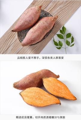 重庆渝北区红心红薯 红皮 1~3两