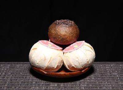 这是一张关于陈皮普洱茶 散装 特级的产品图片