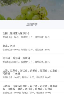 北京东城区白葡萄 10%以下 1次果 0.4-0.6斤
