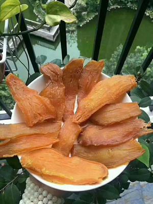 广西壮族自治区玉林市玉州区红薯干 片状 袋装 半年
